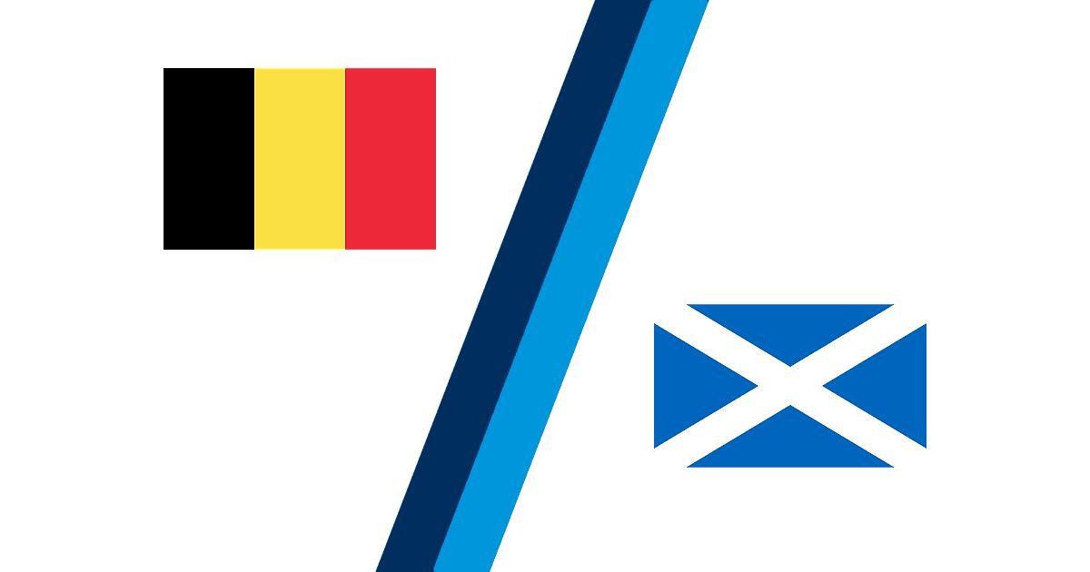 Belgien Schottland