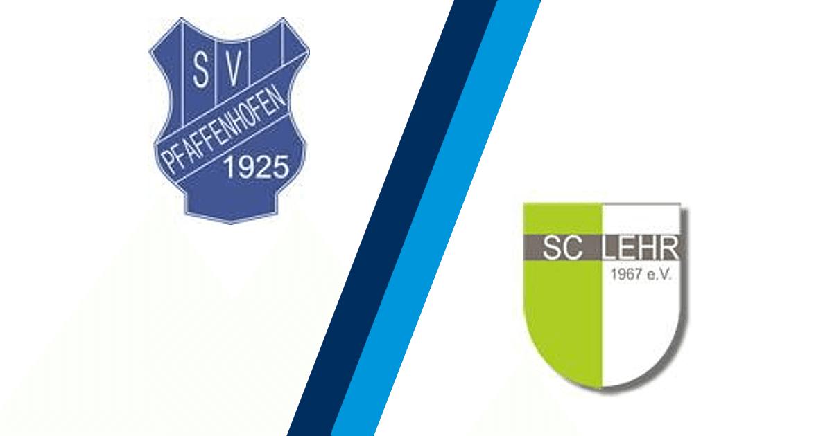 Spielbericht SV Pfaffenhofen - SC Lehr - FuPa