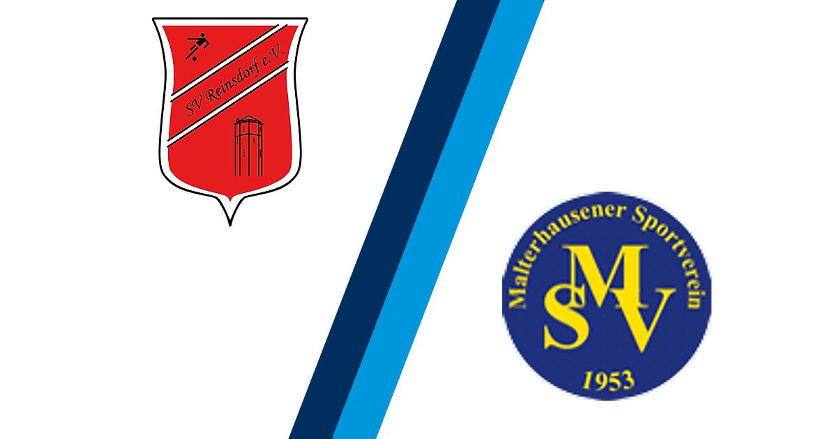 SV Reinsdorf - Malterhausener SV 1953 2:1 - 1